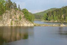 """""""Vírská"""" dam at Bystřice pod Pernštějnem (South Moravia), Czechia Czech Republic, Nature Photos, River, Landscape, Outdoor, Outdoors, Rivers, Outdoor Games, Landscaping"""