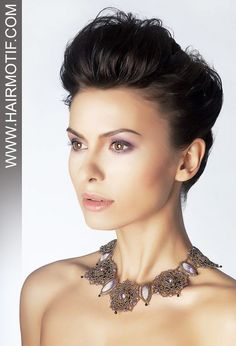 Short Updo Hairstyle for Black Hair