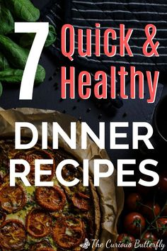 7 Healthy dinner recipes for the whole week. Stop worrying about what to cook and get inspired by these yummy, healthy, plant-based dishes. Cooking healthy at home has never been so easy! Healthy Eating Recipes, Easy Healthy Dinners, Vegan Recipes Easy, Healthy Cooking, Real Food Recipes, Vegan Meals, How To Become Vegan, Vegan Nutrition, How To Eat Better