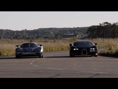 Bugatti Veyron Grand Sport Vitesse & Koenigsegg Agera R Drag Racing Over And Over
