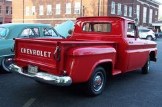 1965 Chevy Stepside - love the body style