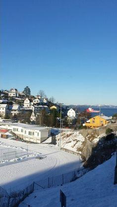 Endelig komme sol  på Laksevåg  :-)