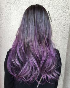 Silver Purple Ombre Hair 88028 Loadtve