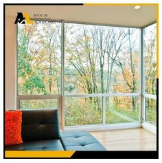 The combination of big picture windows and awning windows gives you a good view and  ventilation as well. Also we have insulation options to let you save energy and keep the noise away at the same time.