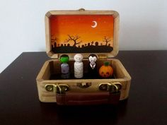 Halloween gift set / Halloween decoration / by TinyTalesByBonnie