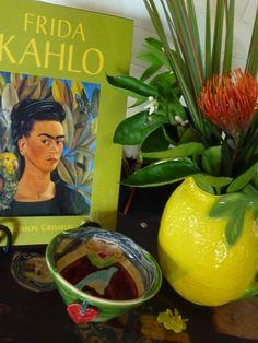Lemon, limey, and cute Frida.