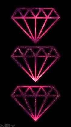 ,3 diamonds - iPhone wallpaper | walpaper | Pinterest | Fondos ...
