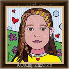 Ilustraciones impresas a todo color con plastificado mate montadas sobre un retablo de madera / Matte-finish illustration on wood.
