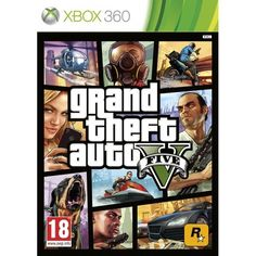 Grand Theft Auto GTA V (five 5) Game Xbox 360 | http://gamesactions.com shares #new #latest #videogames #games for #pc #psp #ps3 #wii #xbox #nintendo #3ds