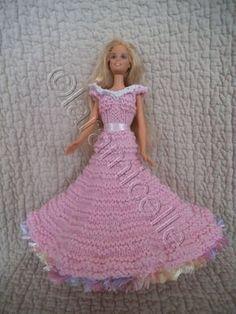 tuto gratuit barbie, robe princesse sonia - laramicelle