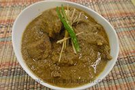Bhuna Mutton With Coconut Masala