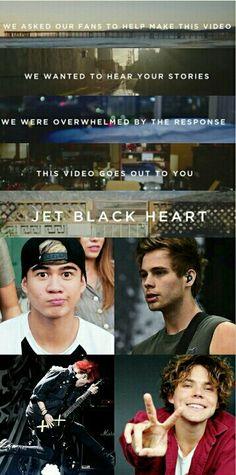 Cause I got a jet black heart