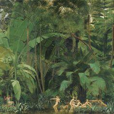 Bernard Boutet de Monvel (French, 1881-1949), Diane et Actéon [Diana and Actaeon]. Oil on canvas, 175 x 175.5 cm.