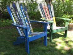 Painted pine #chairs. NH products.