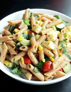 happyvibes-healthylives:  Italian Veggie Pasta Salad