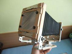 "Jirkon 4x5"" - Large format camera on Behance"