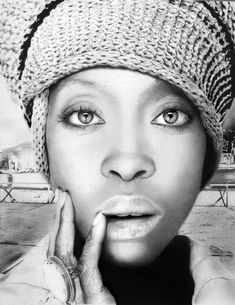 Erykah Badu (1971) - American singer-songwriter, record producer, activist, and actress.