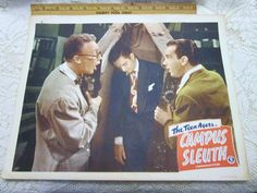 Vintage 1948 Movie Theater Lobby Card The Teen by AVintageStore