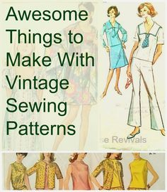 Remember when I shared about all those gorgeous vintage patterns I found at the local Goodwill? Now I'm sharing tons of awesome craft ...