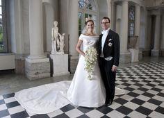 Nya unika filmen på kronprinsessan Victorias vackra brudklänning