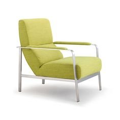 Relax and unwind in chic, eye-catching fashion with the Zuo Modern Jonkoping Arm Chair. Contemporary design features plush rolling cushions, padded arm rests and a sleek brushed steel frame. Soft and vibrant upholstery completes its trendy look.