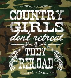 Women's Country Girl's ™™ Reload Camo Long Sleeve Tee  countrygirlstore.com