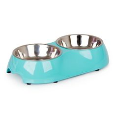 Strawhat Dog Bowl Stainless Steel Cat Food And Water Double Diner 007F *** Find out more about the great product at the image link.