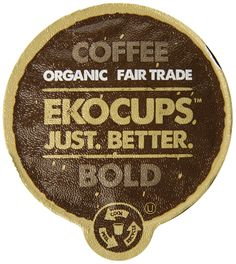 EKOCUPS Artisan Organic Bold Coffee, Dark roast, in Recyclable Single Serve Cups for Keurig K-cup Brewers, 40 count ^^ Remarkable product available now. : K Cups