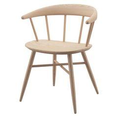 NOFU 651 Dining Chair - Natural Ash