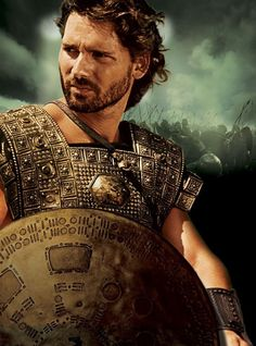 Eric Bana Troy. I love you! LOL Seriously though, he was amazing in this movie and anyone who thinks that Achilles (Brad Pitt) was the eye candy in this movie is missing something...Human DNA.