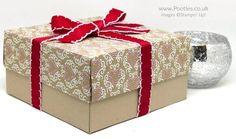 Pootles Advent Countdown 2016 Huge Reinforced Lidded Box Crumb Cake