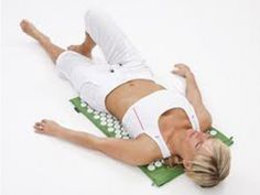 Yantra Mat USA  - Acupressure Mat  This mat is amazing! I know it sounds hokey but it works! Got one for my mother---it's made a believer out of her. I use it for my neck and shoulders---it's causes ur own body's endorphin release for pain/ muscle relief.