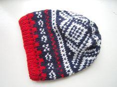 Slouchy Nordic Winter Hat PDF knitting pattern by byEline on Etsy, $4.49