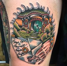 Hobbit Hole by Tom Chippendale Instagram: chippendaletom Email: info@osc-tattoo.com