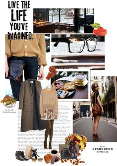 """""""Coffee break"""" by solespejismo ❤ liked on Polyvore"""