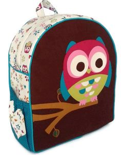 Thai Hmong Tribal Ethnic Owl Backpack Handmade Crafts Purse Tablet ...