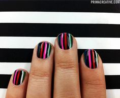 NAILS DID: LAMB Manicure  Inspired by L.A.M.B. SS 2012