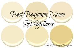 If you are looking for a paint colour for your walls that\'s not beige or gray but can still function as a neutral, then take a look at some of these gorgeous soft yellows from Benjamin Moore. I love these yellows because they are so versatile and can...