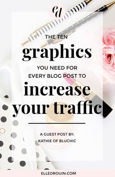 10 social media graphics you need for every blog post to increase your traffic - plus Canva social media templates to make your life so much easier! These social media graphics are perfect for bloggers or female entrepreneurs who want to grow their blog traffic.