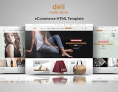 Zeiran - Fashion Bootstrap eCommerce Template | Pinterest ...