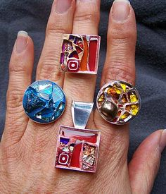 Mosaic Jewelry by sucra88, via Flickr