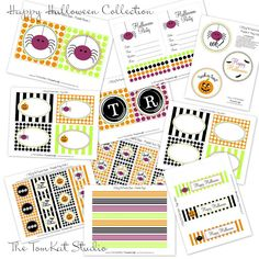 The TomKat Studio: {New to The Shop} Happy Halloween Collection!