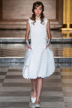 See the Simone Rocha Spring 2015 collection on Vogue.com.