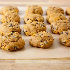Pumpkin chocolate chip cookies | Vegan