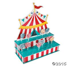 Hey, I found this really awesome Etsy listing at https://www.etsy.com/listing/238035059/1-the-circus-cake-pops-stand-lollipop