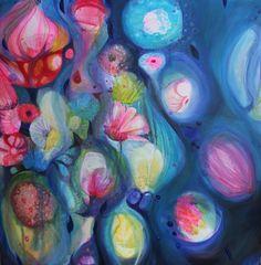 floating flowers - Moniek Peek