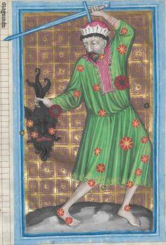 Astrologische Handschrift für König Wenzel IV. von Böhmen 14. Jh. Clm 826 Folio 39