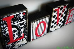 Love red black white polka dot damask zebra stripe  really like the polka dots? wonder if we could do this on a smaller scale?