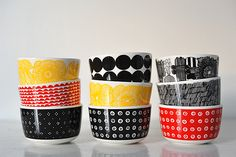 skalar marimekko a Marimekko, Kitchenware, Tableware, Pet Accessories, My Room, Dinnerware, Eye Candy, Kitchens, Pottery