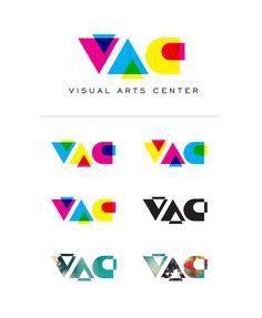 logo abbreviation - Google Search Typography Logo, Art Logo, Logos, Graphic Design Art, Book Design, Visual Arts Center, Dynamic Logo, Beauty Salon Logo, Logo Color